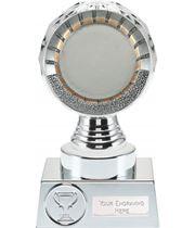 "50mm Centre Trophy Silver Hemisphere 15cm (6"")"