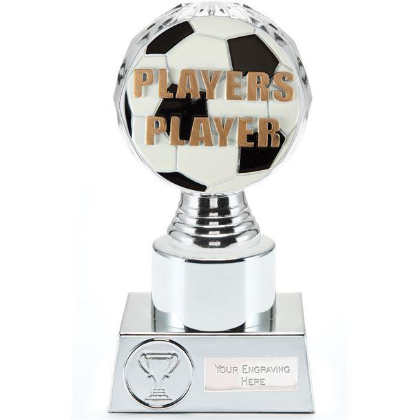 "Players Player Trophy Silver Hemisphere 16.5cm (6.5"")"