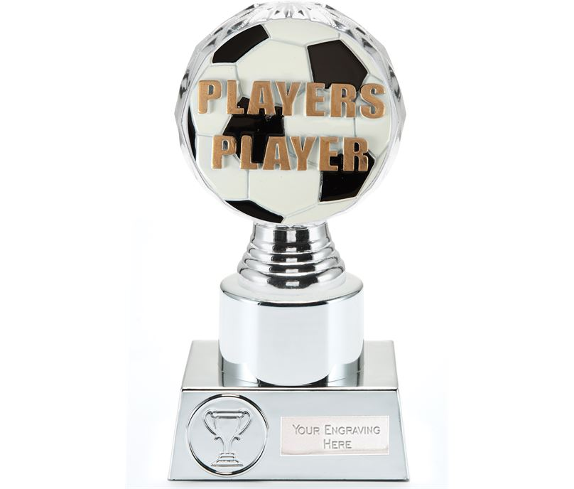 "Players Player Trophy Silver Hemisphere 16.5cm (6.5"")"