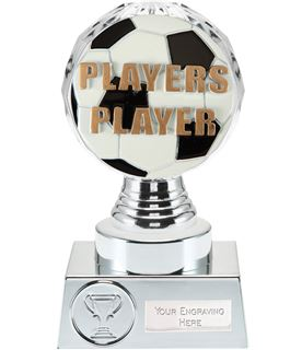 "Players Player Trophy Silver Hemisphere 15cm (6"")"
