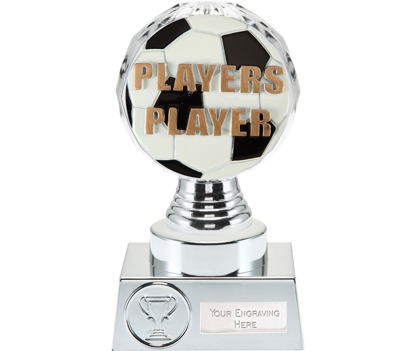 "Players Player Trophy Silver Hemisphere 15cm (6"")"