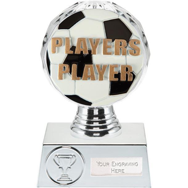 "Players Player Trophy Silver Hemisphere 13.5cm (5.25"")"