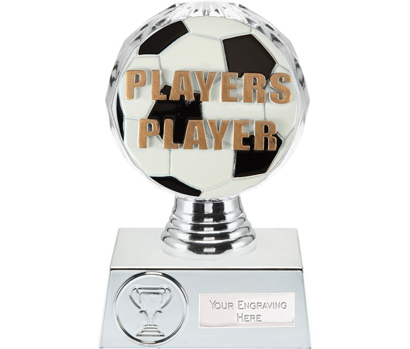 "Players Player Trophy Silver Hemisphere 13.5cm (5.25"")"