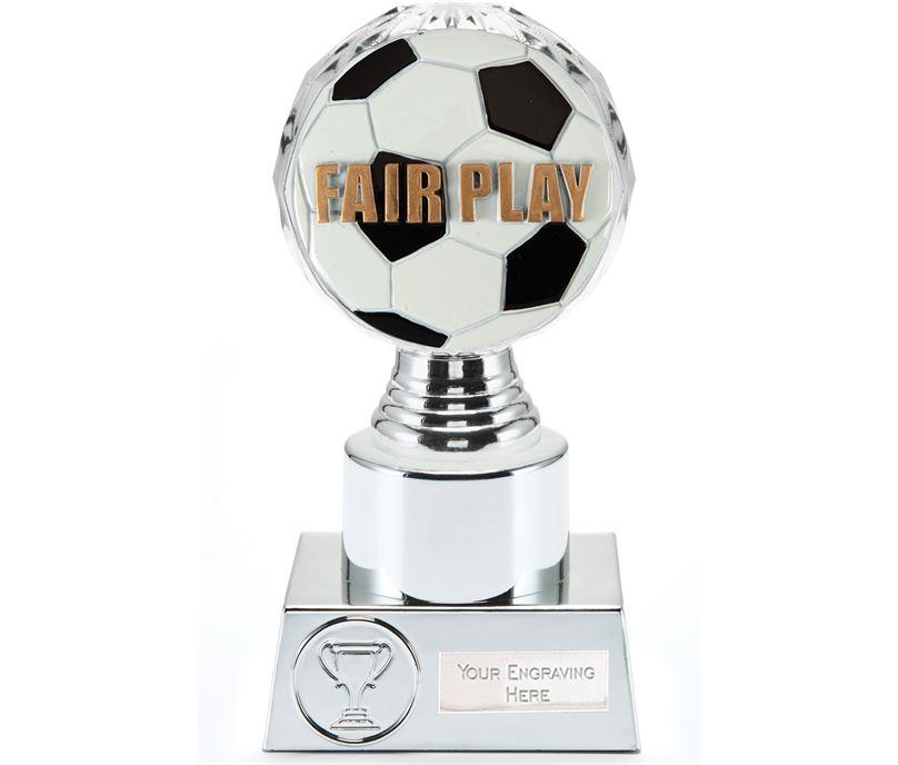 "Fair Play Trophy Silver Hemisphere 16.5cm (6.5"")"