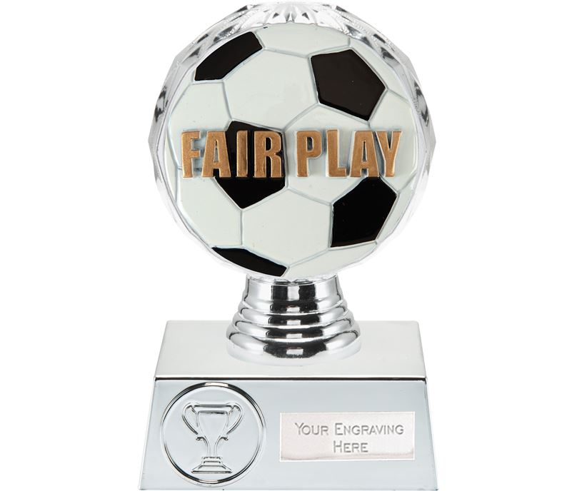 "Fair Play Trophy Silver Hemisphere 13.5cm (5.25"")"