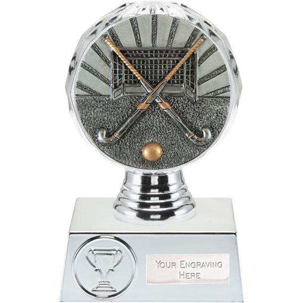 "Hockey Trophy Silver Hemisphere 13.5cm (5.25"")"