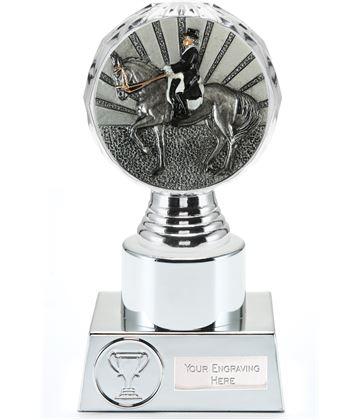 "Dressage Trophy Silver Hemisphere 16.5cm (6.5"")"
