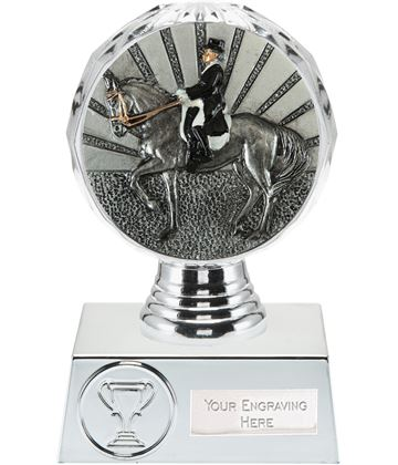 "Dressage Trophy Silver Hemisphere 13.5cm (5.25"")"