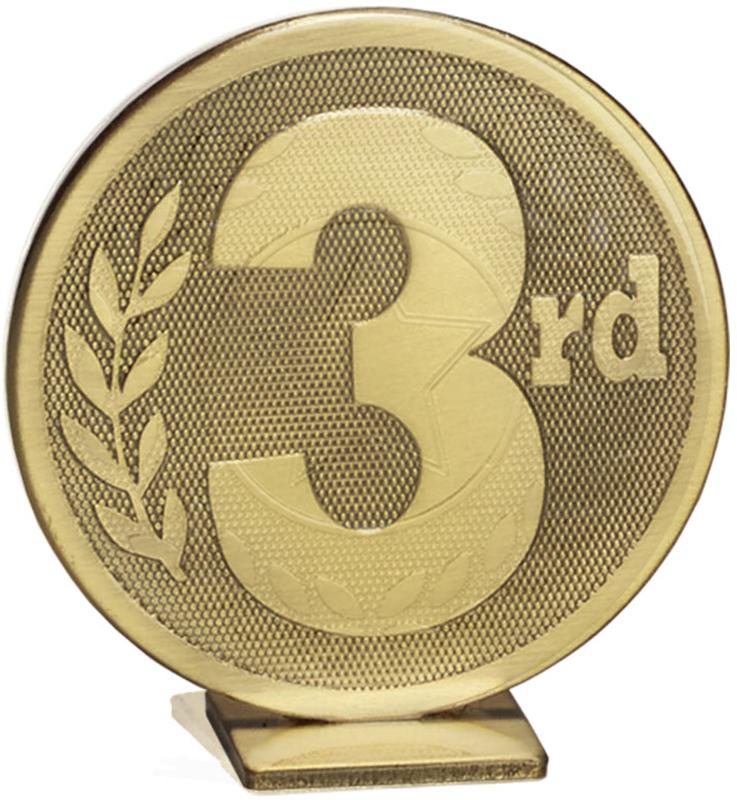 "Bronze Global 3rd Place Self Standing Award 6cm (2.25"")"