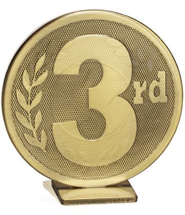 "Bronze Global 3rd Place Self Standing Award 60mm (2.25"")"