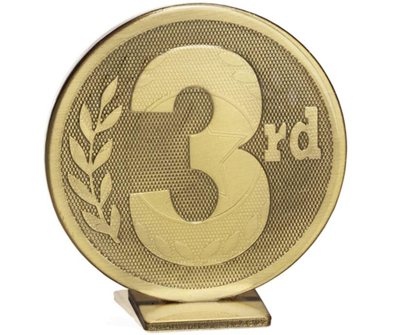 "Bronze Global 3rd Place Self Standing Award 60mm (2.25"")"