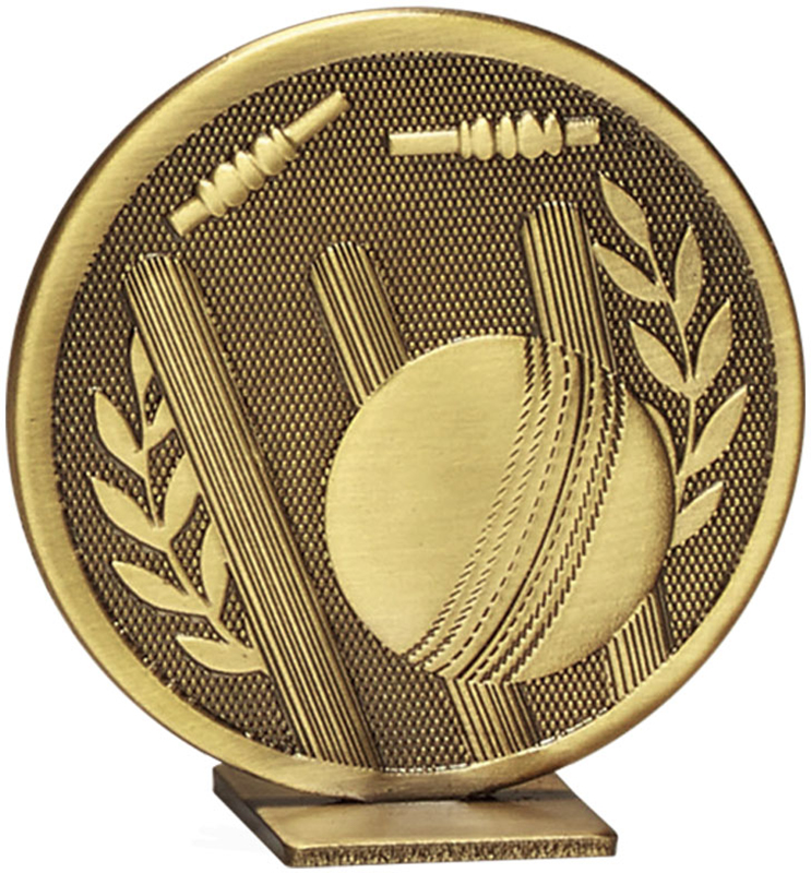 "Bronze Global Cricket Self Standing Award 60mm (2.25"")"