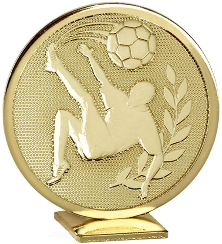 "Gold Global Football Self Standing Award 6cm (2.25"")"