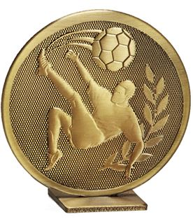 "Bronze Global Football Self Standing Award 60mm (2.25"")"