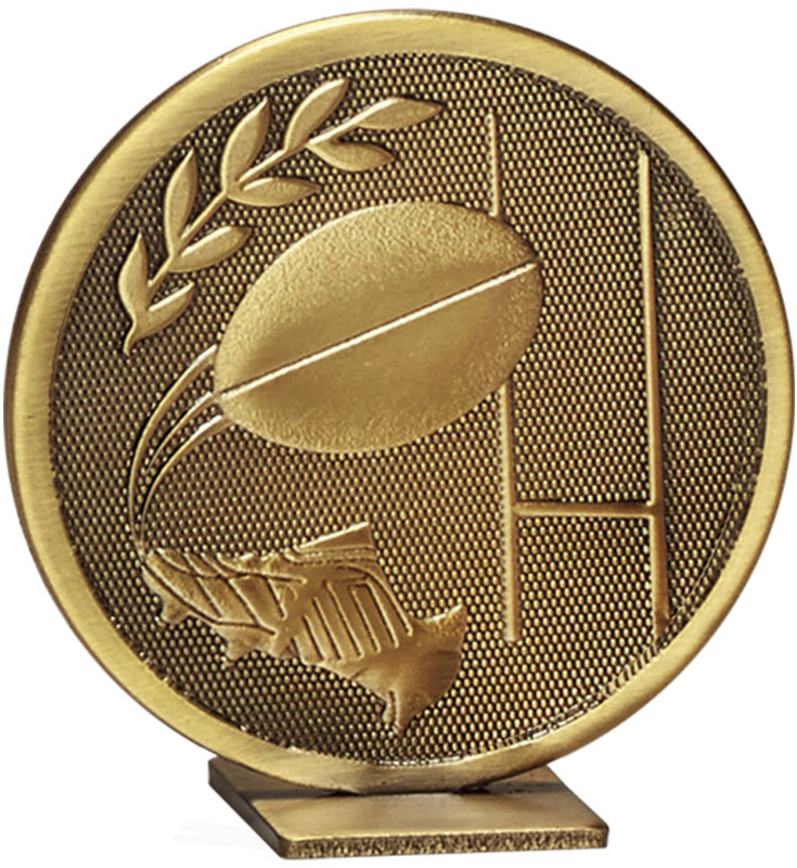 "Bronze Global Rugby Self Standing Award 60mm (2.25"")"