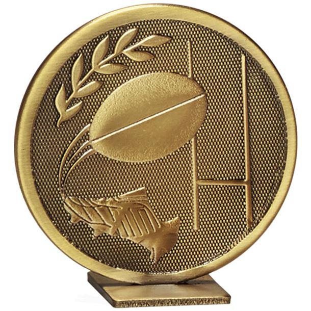 "Bronze Global Rugby Self Standing Award 60mm (2.25"")"