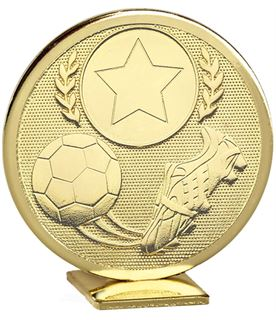 "Gold Global Boot & Ball Self Standing Award 60mm (2.25"")"