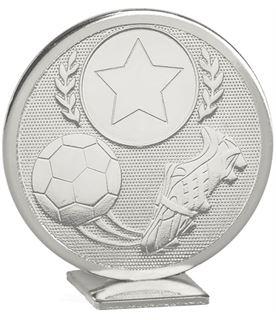 "Silver Global Boot & Ball Self Standing Award 60mm (2.25"")"