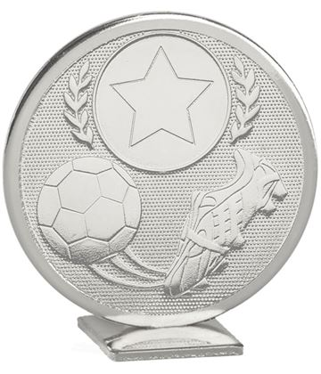 "Silver Global Boot & Ball Self Standing Award 60mm (2.25"")"