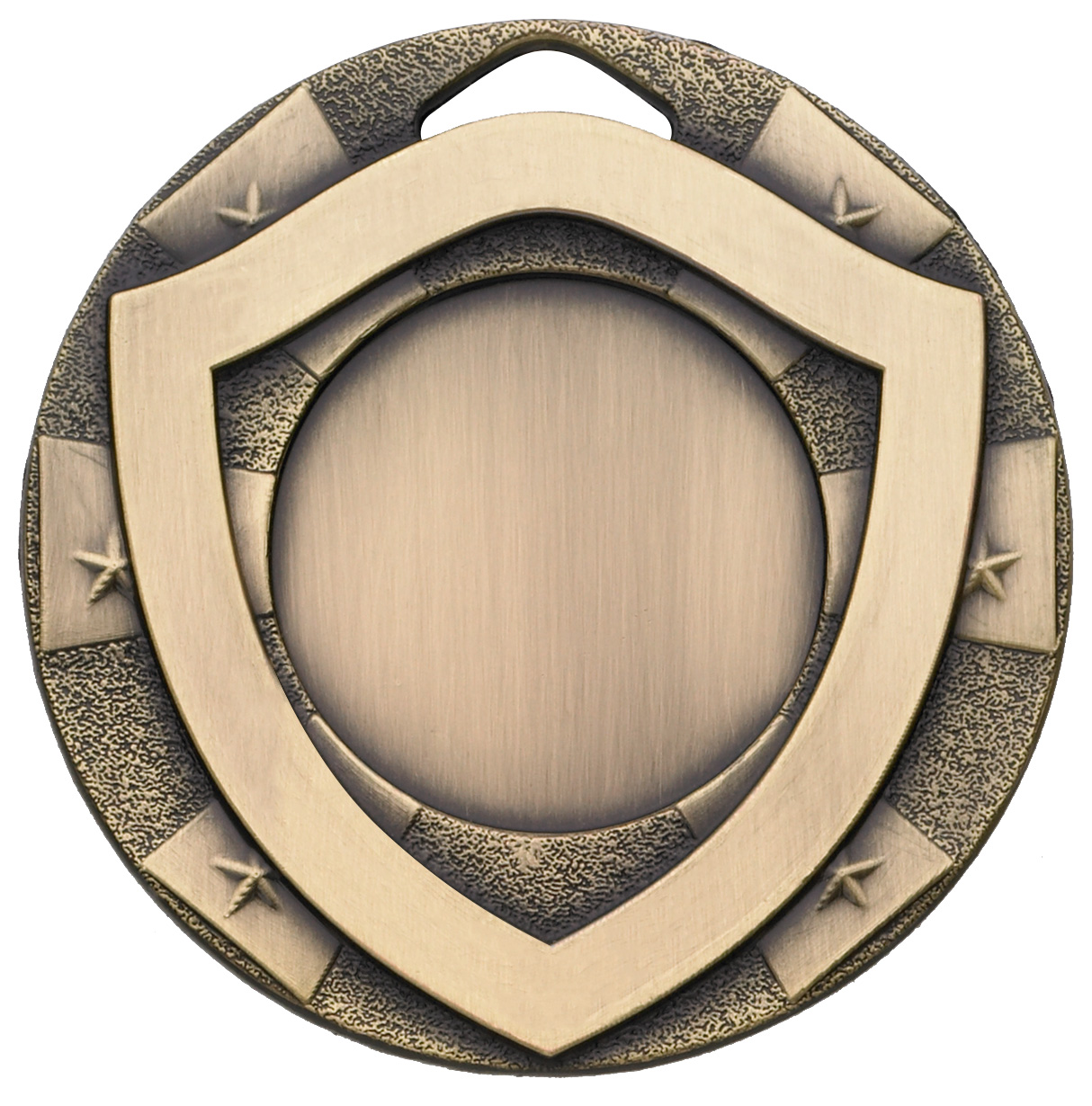 "Bronze Mini Shield Medal 50mm (2"")"