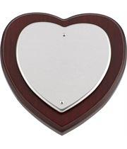 "Heart Shaped Shield 12.5cm (5"")"