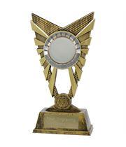 """Valiant 50mm Centre Gold Trophy 23cm (9"""")"""