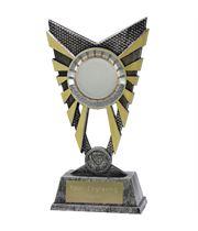 "Valiant 50mm Centre Silver Trophy 23cm (9"")"