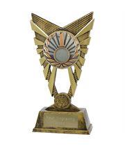 """Valiant 1st Place Trophy Gold 23cm (9"""")"""