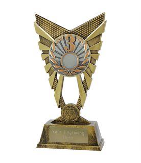 "Valiant 3rd Place Trophy Gold 23cm (9"")"
