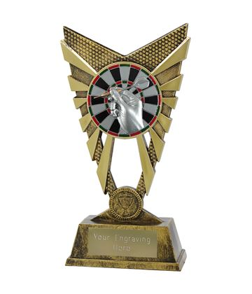 "Valiant Darts Trophy Gold 23cm (9"")"