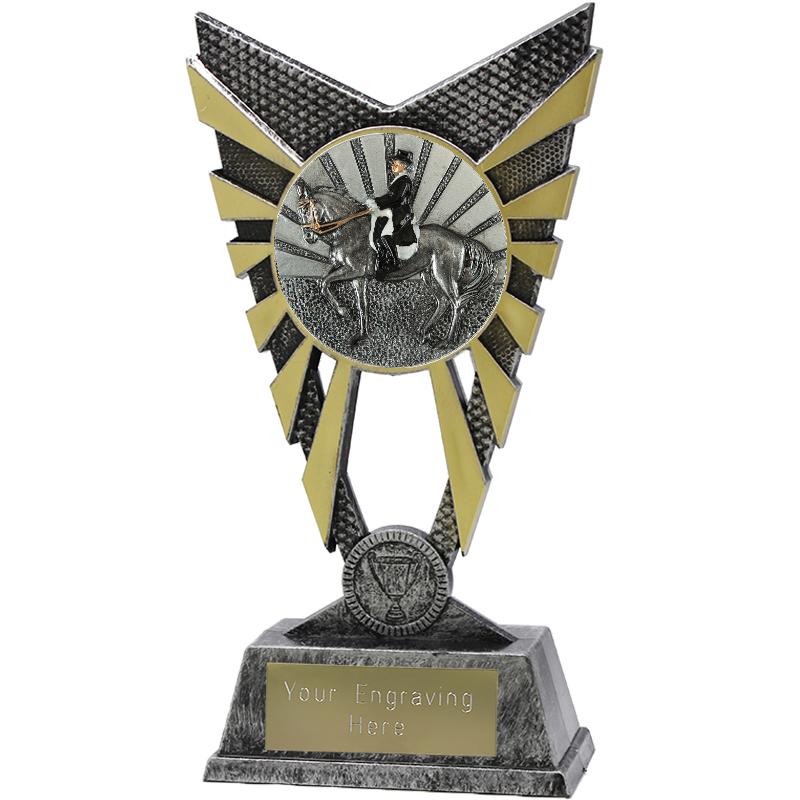 "Valiant Dressage Heavyweight Trophy Silver 23cm (9"")"