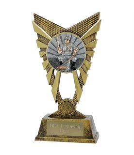 "Valiant Fishing Trophy Gold 23cm (9"")"