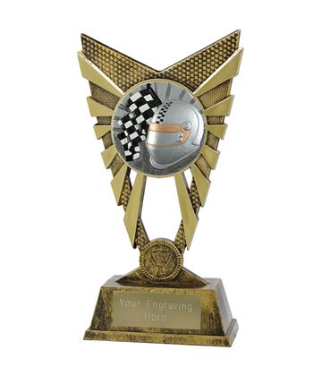 "Valiant Motorsport Trophy Gold 23cm (9"")"