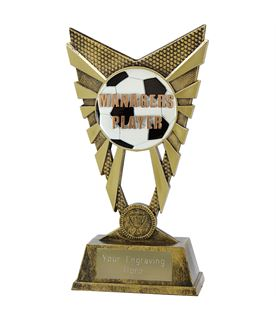 """Valiant Managers Player Trophy Gold 23cm (9"""")"""