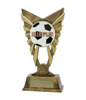 """Valiant Fair Play Trophy Gold 23cm (9"""")"""