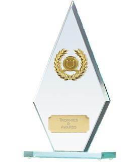 "Pointer Jade Glass Award 22cm (8.75"")"