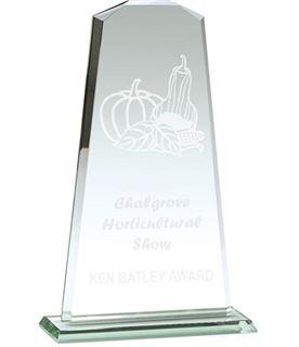 "Towering Flair Jade Glass Award 32cm (12.5"")"