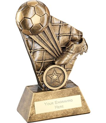 "Football Boot Strike Series Trophy 16cm (6.25"")"