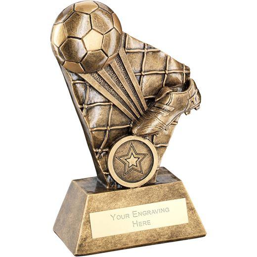 "Football Boot Strike Series Trophy 16cm (6.25"")"