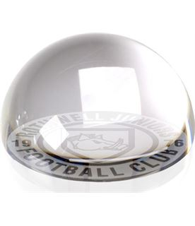 """Crystal Dome Paperweight 75mm (3"""")"""