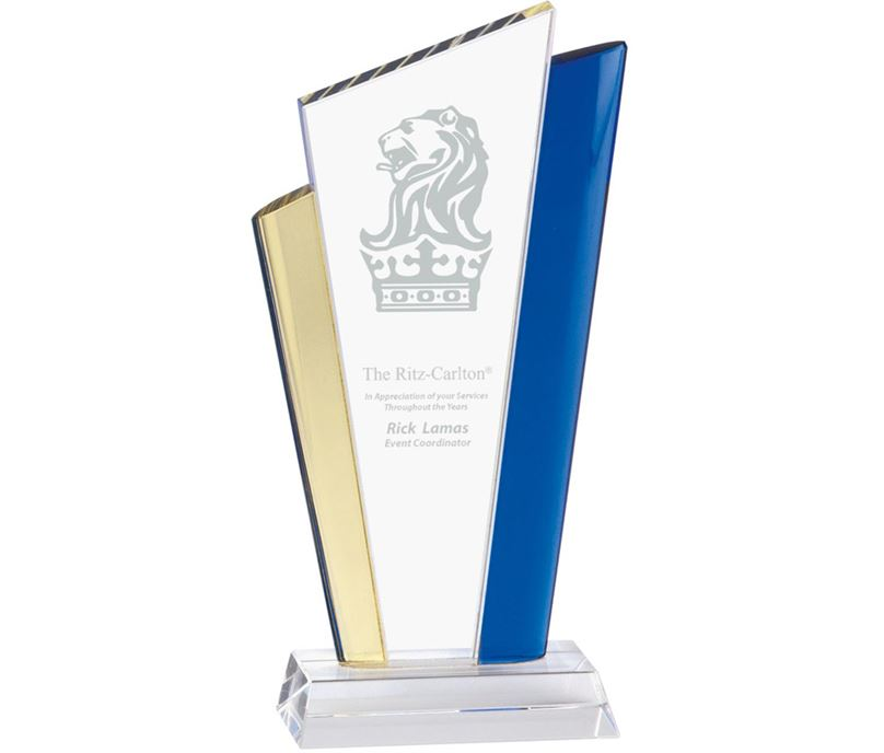 "Festival Jade Glass Award 23.5cm (9.25"")"