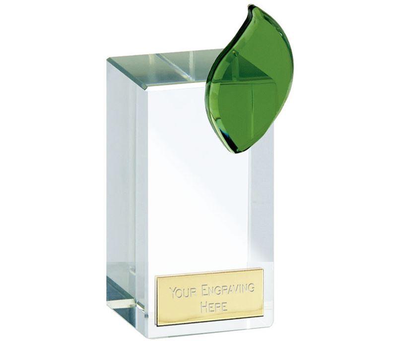 """Leaf Crystal 13.5cm (5.25"""")"""
