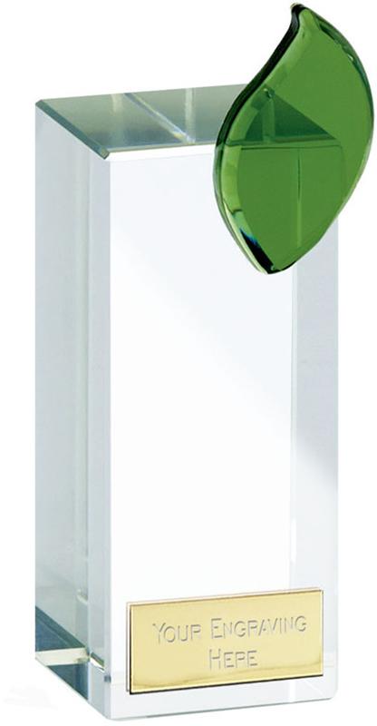 """Leaf Crystal 14.5cm (5.75"""")"""