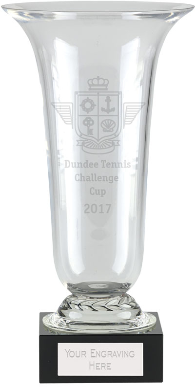 "Alpha Glass Presentation Cup 25.5cm (10"")"