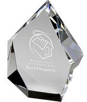 "Optical Crystal Glacier Award 12.5cm (5"")"