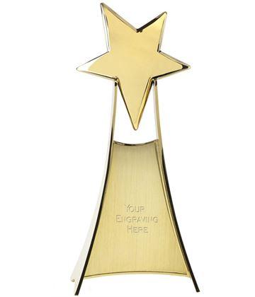 "Venture Rising Gold Star 26.5cm (10.5"")"