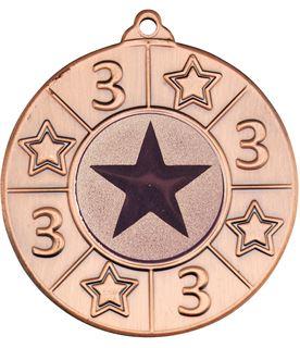 "3rd Place Multi Sport Medal Bronze 50mm (2"")"