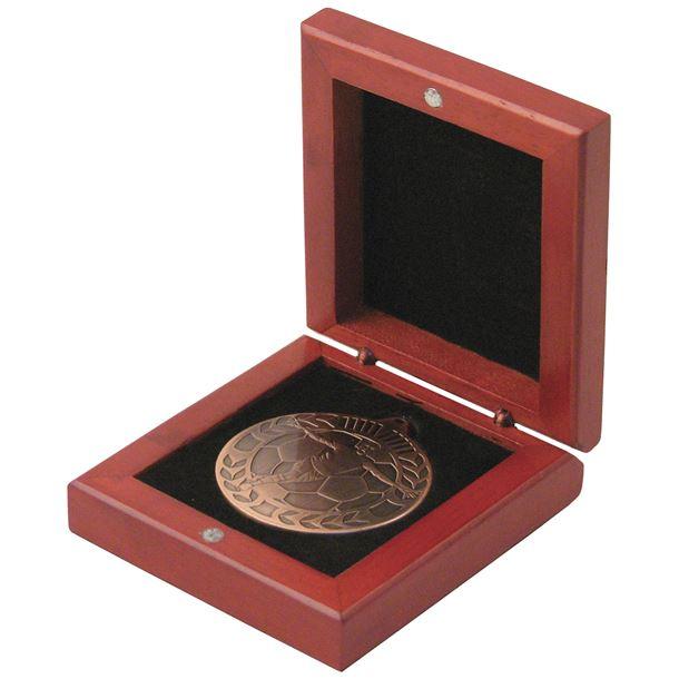 Rosewood Medal Box 50mm Recess