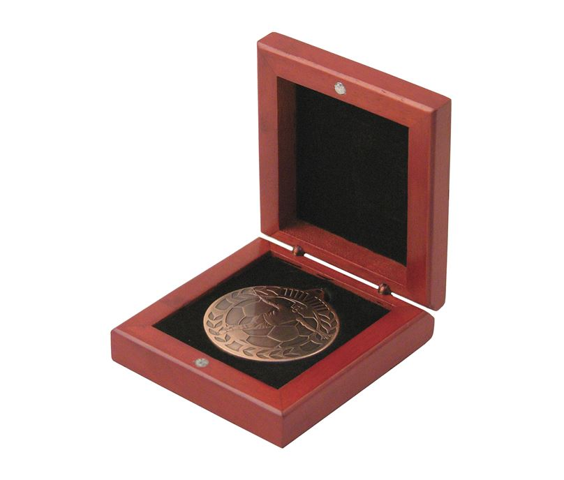 Rosewood Medal Box 50mm Recess