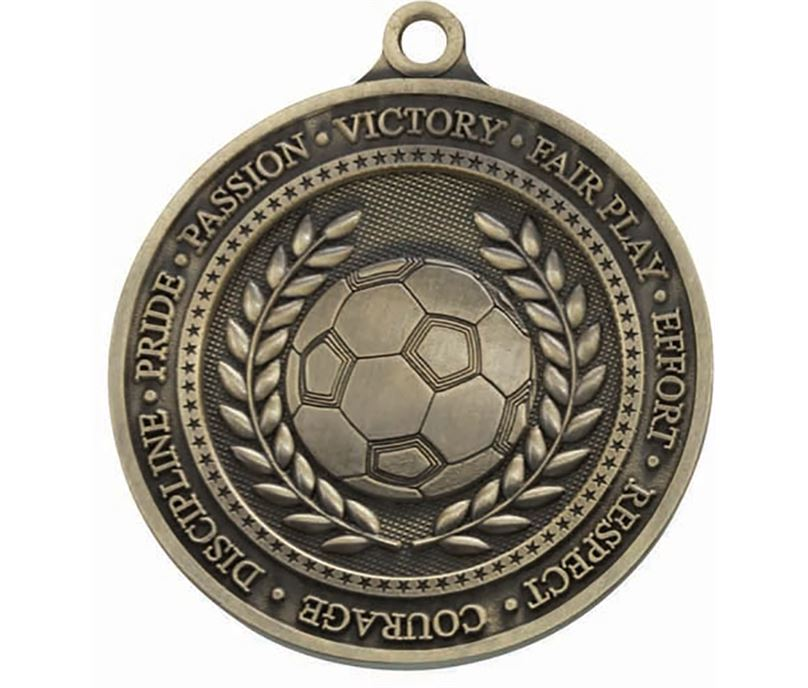 """Olympia Football Gold Medal 60mm (2.25"""")"""